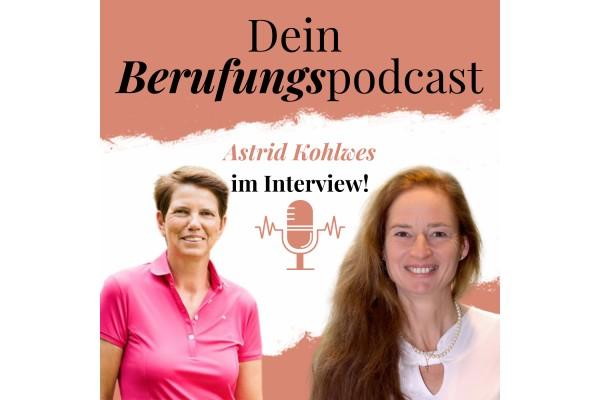 Episode 19 – Wie Astrid durch Zufall, ihre Berufung als Golfspielerin und Trainerin gefunden hat! – Interview mit Astrid Kohlwes