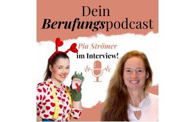 Episode 10 – Wie Pia als Klinikclown Kinder in Krankenhäusern und Hospizen aufmuntert! – Interview mit Pia Strömer