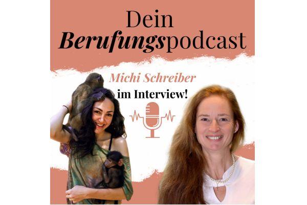 Episode 9 – Wie Michi in Afrika ihre Berufung als Tierschützerin für Primaten lebt! – Interview mit Michi Schreiber